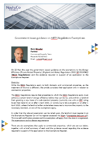 MEES Regulations