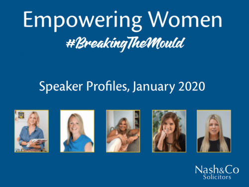 Empowering Women Speaker Profiles